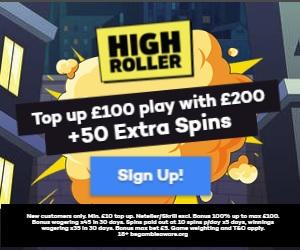 Highroller Casino Screenshot