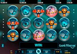 cosmic fortune slot jackpot