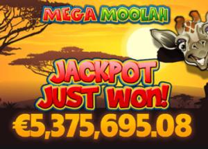 vinn mega moolah jackpot